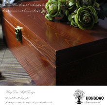 HONGDAO handcrafted custom wooden microphone box
