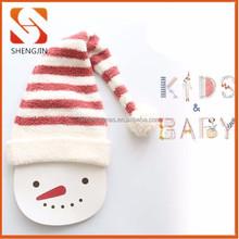 2015 baby boys& girls polar fleece Christmas Hat Beanie Cap Santa xmas hats