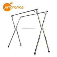 Installation Free Stainless Steel Clothes Drying Rack