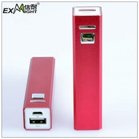 high quality colorful 2000 mah powerbank slim of small size
