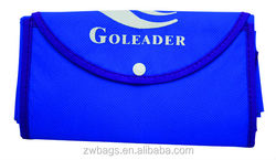 Polyester small handle shopping non woven foldable bag