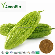 Top quality natural Bitter Melon Extract 10:1 20:1, Charantin 10%, with free sample