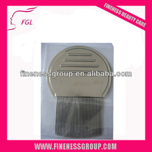 Professional brush factory sale made in china steel long tooth lice comb