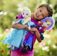 hotsale frozen snow queen elsa plush stuffed toys plush dolls