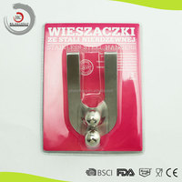 Good quality stainless steel door hook for german kitchen brands
