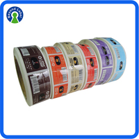 Self Adhesive Printing Customized Design Bottle Paper Labels For E Cigarette, Fashionable Printing Custom Flavor E-Juice Bottle