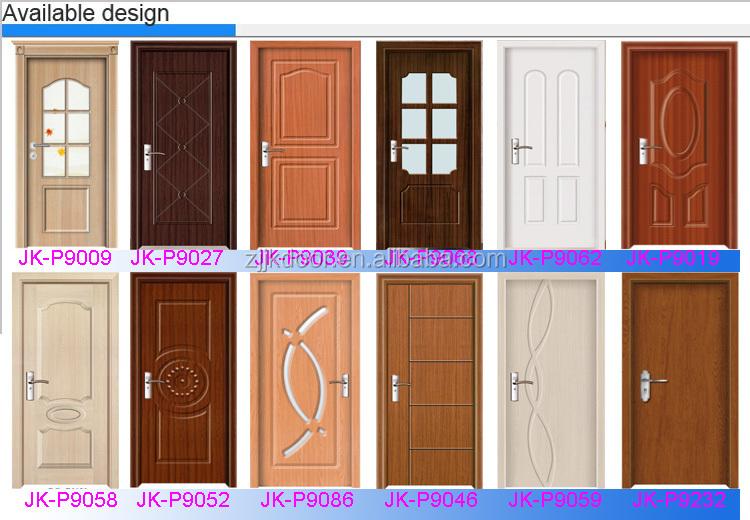 china wholesale market quality pvc door panel/wood glass