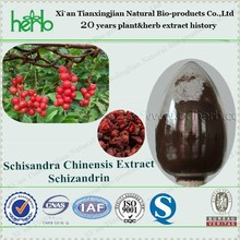ISO,BV,KOSHER certificate Factory Supply High Quality Natural Schizandra extract powder Schisandrin 9% HPLC