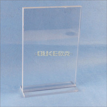 new products factory directly price lucite acrylic menu holder