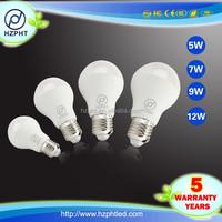 BV test indoor smudge pot 12v led light bulb 9W led bulb e15