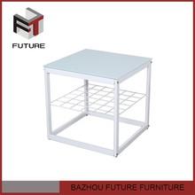 2014 nuevo diseño de la cocina moderna mesa de la esquina