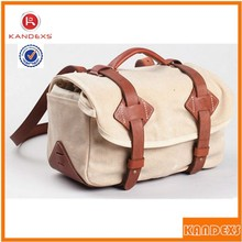 2015 Best Selling Fashion Slr Camera Bag Good Quality Canvas Camera Messenger Bag