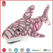 New customized plush soft toy shark