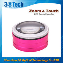 DH-86001 innovative 2016 touch times led magnifier aa led