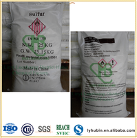 rubber use elemental sulfur powder