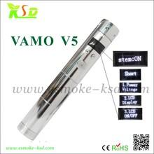 variable voltage variable power advanced electroinc cigarette vamo v5 mod