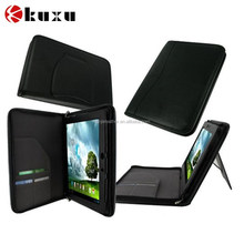 2-in-1 Leather Keyboard Portfolio Stand Case Cover for Asus Transformer Book T300 Chi 12.5-inch Convertible Tablet Hybrid PC