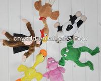 amazing screaming plush flying animals novelty slingshot plush toy