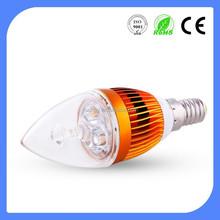 saving energy High lumen 5w led bulb , e14 led candle bulb lighting