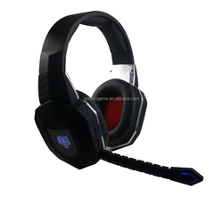 Video Gaming Fibre-optical Wireless Headset with CE Rohs Certificate For Playstation 4