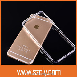 Ultra Thin Transparent Cellphone Case for iphone6