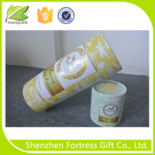 fancy skin care cardboard cosmetic paper tube