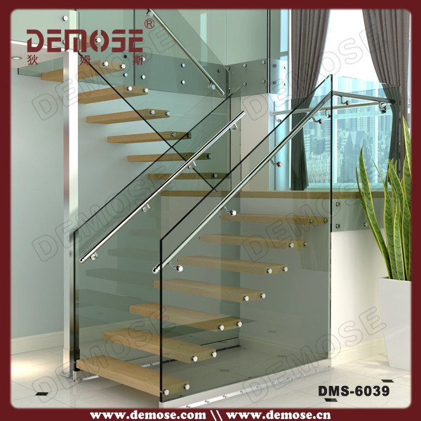 Portable Steel Steps : Indoor portable metal steel stairs design for