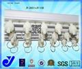 Jy-2051 | cortina pista | cortina trilho deslizante | acessórios de decoração