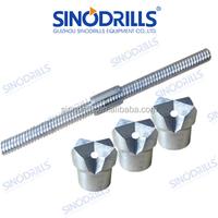 SINODRILLS high quality rock drill tungsten carbide bit with 51mm