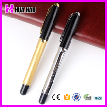 2015 heavy weight roller ball pen,luxury God and Silver roller pen,promtotional metal roller ball pen