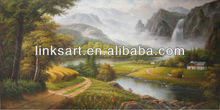 home decor handmade natural landscape oil painting