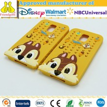 NBCUniversal Audited Factory Wholesale 3d Phone Case for Samsung Custom Silicone Phone Cover