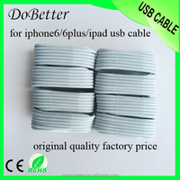 Supplier From China 8 Pin USB 2.0 Two Sided Sync Data USB Charging Cable 1m for Apple Iphone 6 Mobile Phone