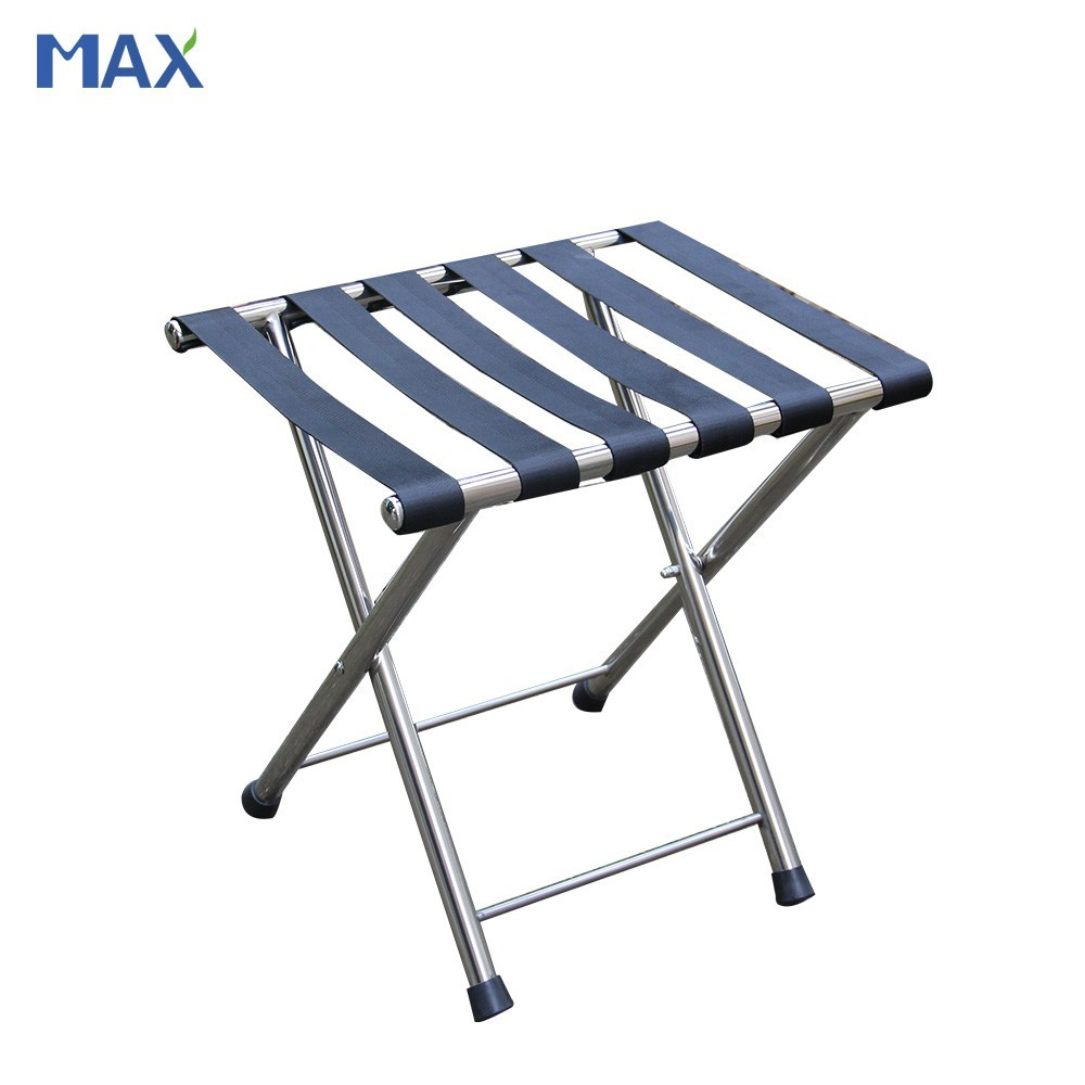 Foldable Luggage Rack Stainless Steel Luggage Rack