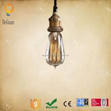 2015 hot selling Vintage and Brass E27 Lamp Holder Edison style light bulbs