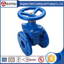 resilient seated non rising stem gate valve