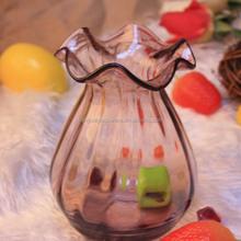 Spray Purple Different Types Glass Vase