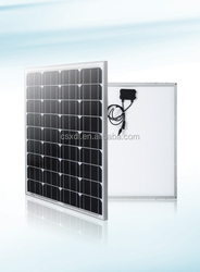 100 watt solar panel mono and poly