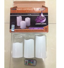 Fashion High Quality Paraffin Wax LED Scented Candles