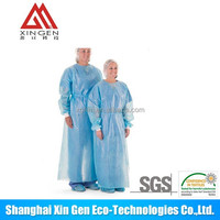 Disposable medical TPU Patient Gown hospital used