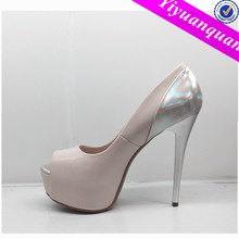 Elegant Evening Dress Shoes for Lady High Heel
