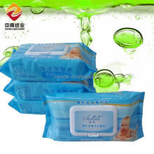 ZN Paper Germicidal Ocean RO Water Baby Wet Wipes with White Lid 80 pcs