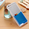 new fashion floating fish mobile phone case for Samsung Iphone 5/5S/6/6plus