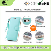 Phone Accessories Leather Universal Flip Phone Case For iPhone 6s Cellphone Pu Case