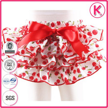 mixed colors with bow satin wholesale girls baby short bloomers