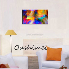 Bright eye abstract colour fluctuations wholesell price hand-painted oil painting in the canvas
