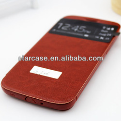 Small MOQ Leather Filp Case for Samsung Galaxy Grand 2 g7106