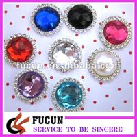 Acrylic diamond gems