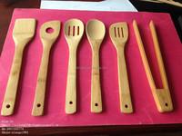 household kitchen cookware sets bamboo utensils sets on sale