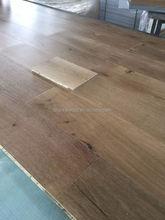 Rustic grade European Oak engineered wood flooring